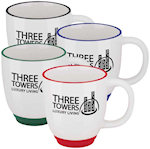 11oz Two Tone Bistro Mugs